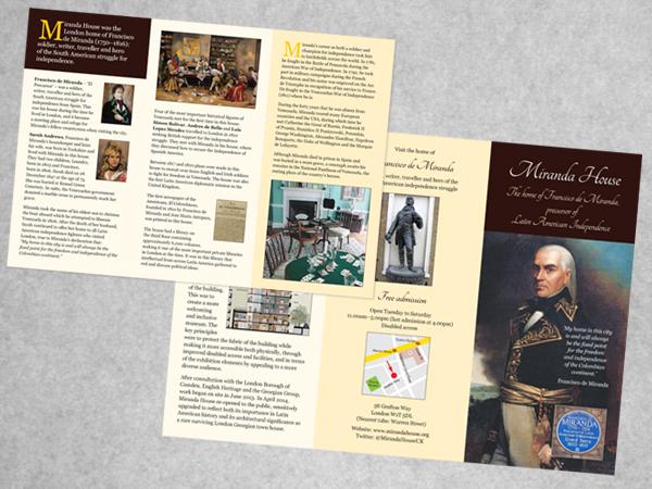 Miranda House leaflet